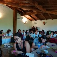 Encuentro Migraciones, género y derechos humanos: Experiencias de trabajo con niñas, adolescentes y mujeres jóvenes, convocado por el Fondo Centroamericano de Mujeres. (Mayo 2019)